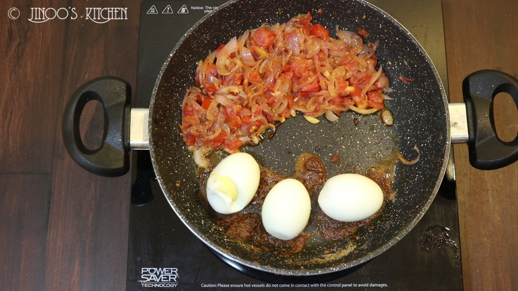 egg roast masala