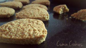 Cumin cookies