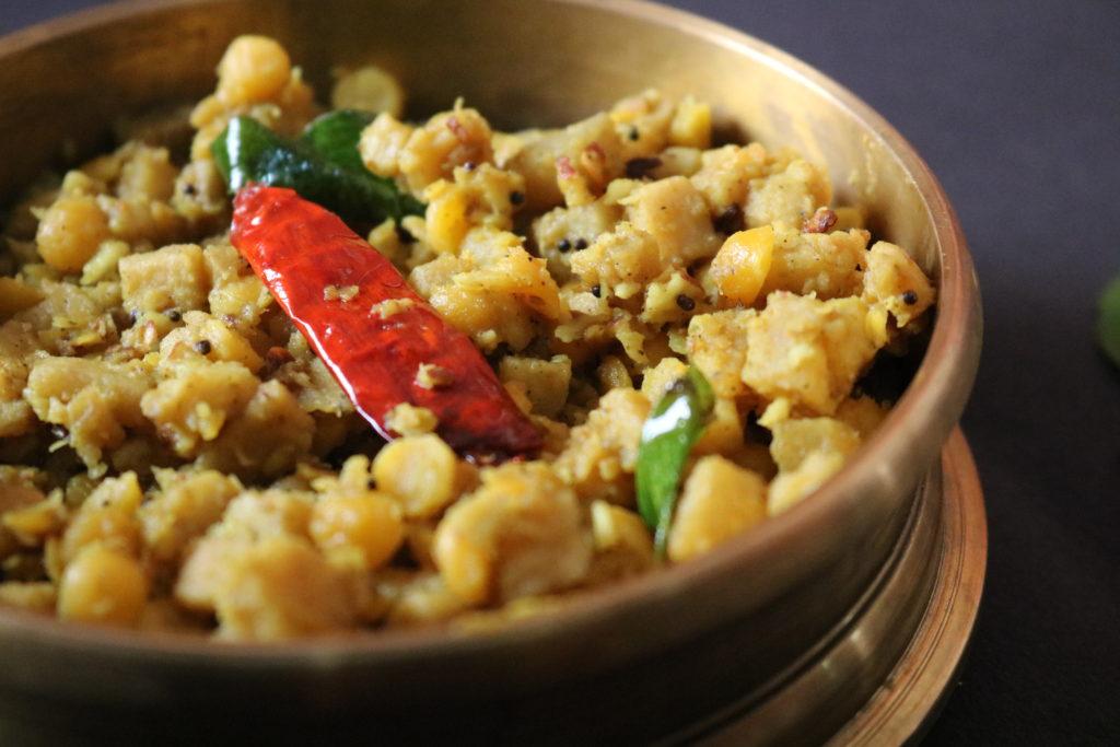 kootu curry with kadala parippu