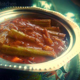 Drumstick Vatha Kuzhambu Recipe
