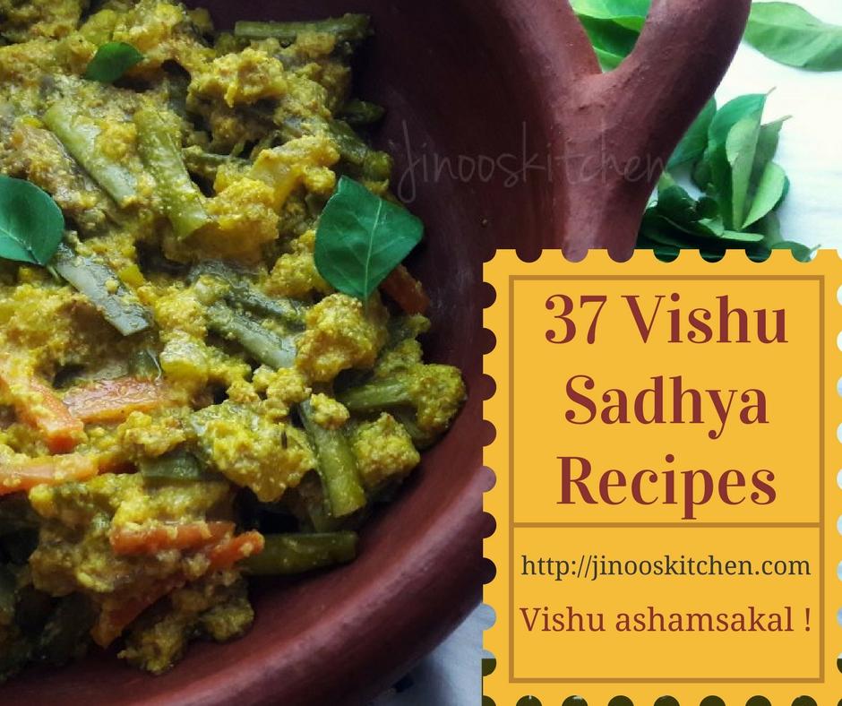 Vishu Sadya Recipes From Kerala