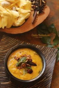 Raw jackfruit coconut curry kerala style
