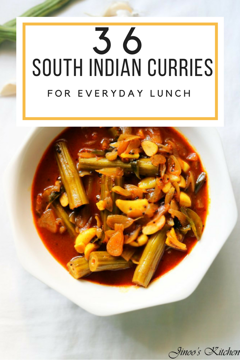 36 Delicious south Indian curry recipes for rice1