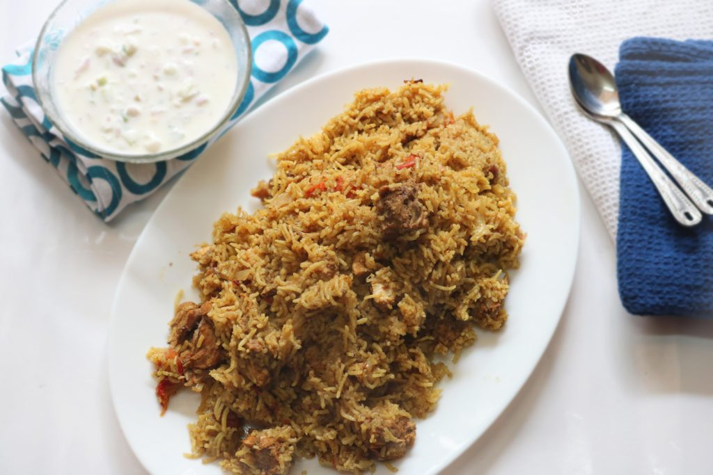easy Chicken Biryani