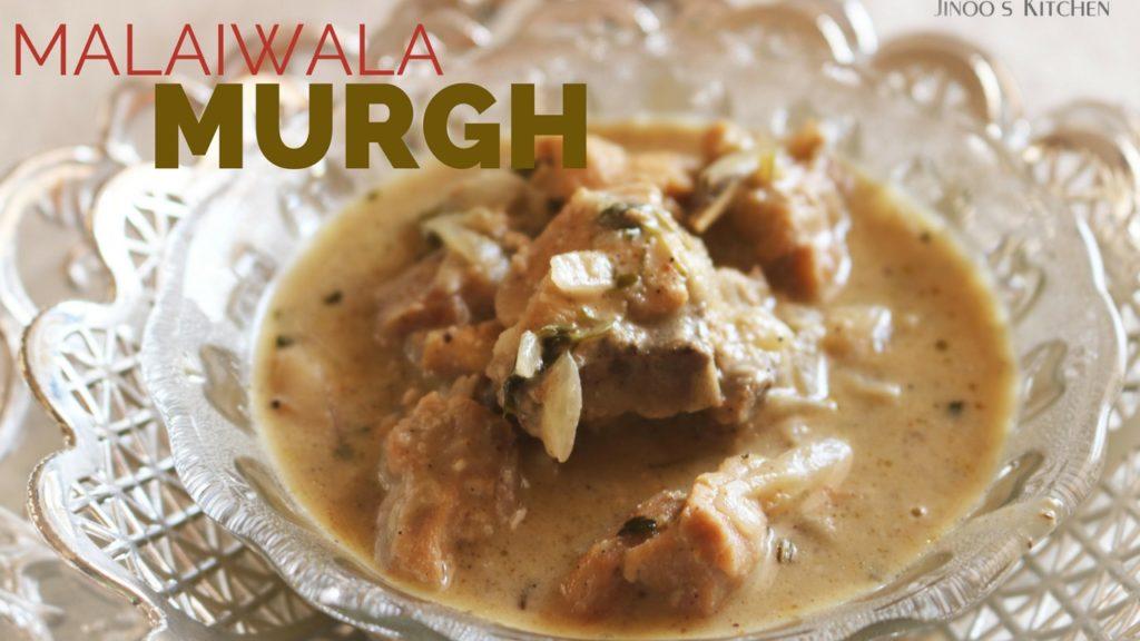 Murgh Malaiwala curry