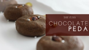 chocolate peda recipe