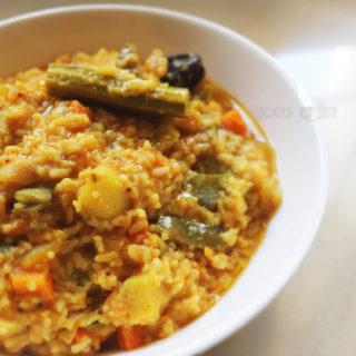 Sambar Sadam recipe   hotel style sambar sadham