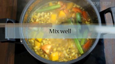 Vanpayar mathanga curry recipe