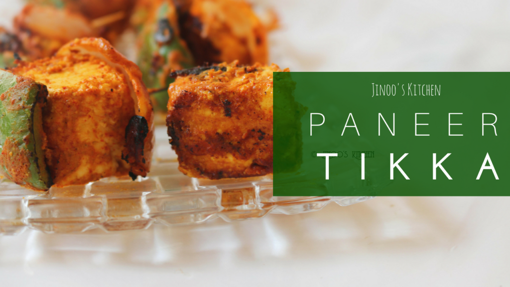 Paneer Tikka recipe on tawa