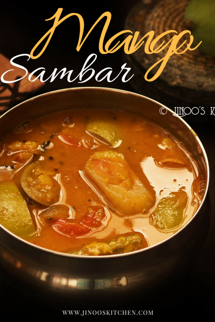 how to prepare sambar