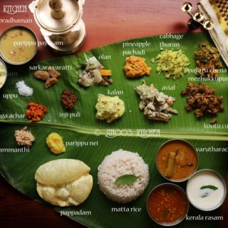onam sadya recipes