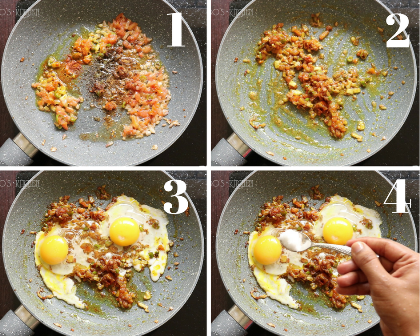 egg recipes - Egg bhurji