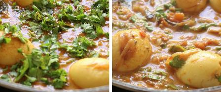Egg curry recipe Kerala style