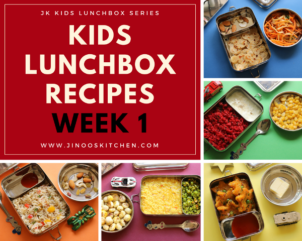 Kids lunch box recipes | JK kids lunch and snacks ideas