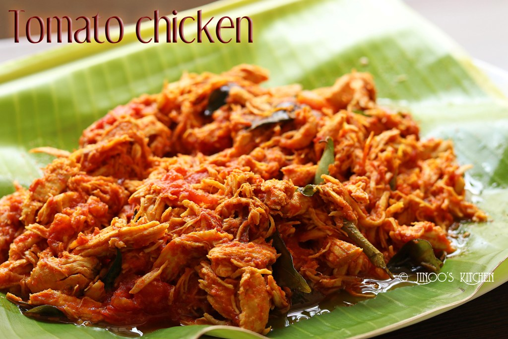Tomato chicken recipe south Indian style