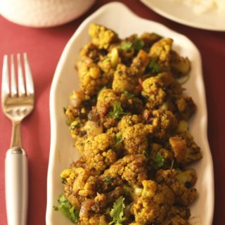 cauliflower pepper fry recipe