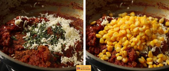 Sweet Corn curry recipe