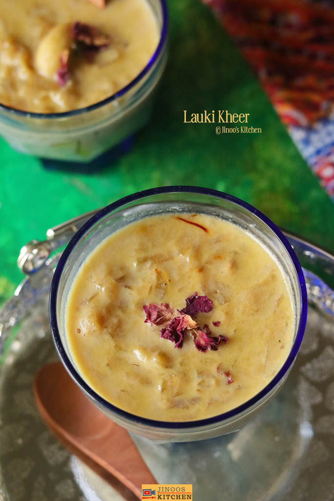 lauki kheer recipe bottle gourd payasam recipe