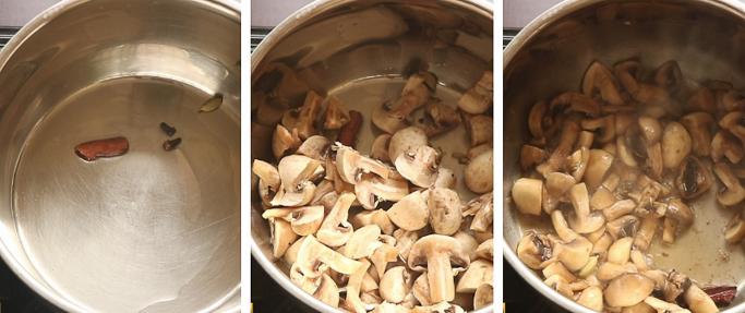 mushroom stew recipe