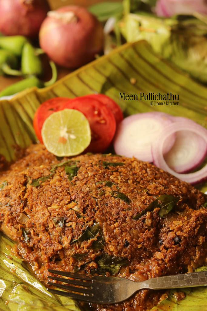 Meen pollichathu kerala style