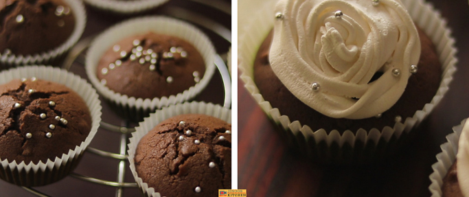 Finger millet cupcake recipe