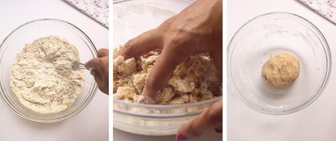 Wheat honey cookies recipe