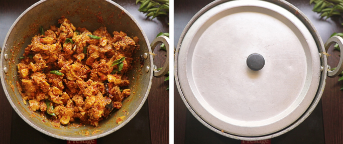 close cook spicy chicken fry recipe