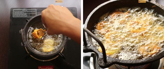 step 7 snake gourd rings recipe