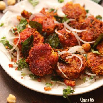 chickpeas 65 recipe