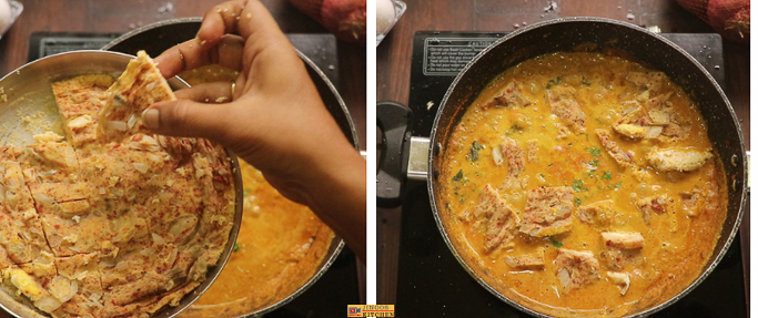 egg omelet curry recipe
