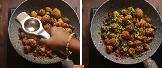 chettinad potato fry recipe