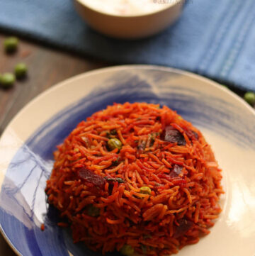 Beetroot rice recipe