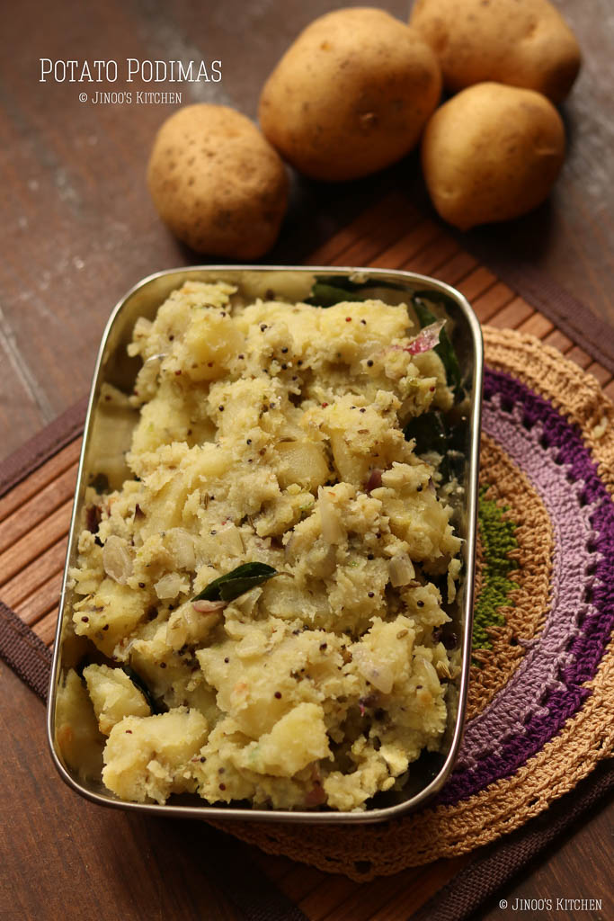 potato podimas recipe