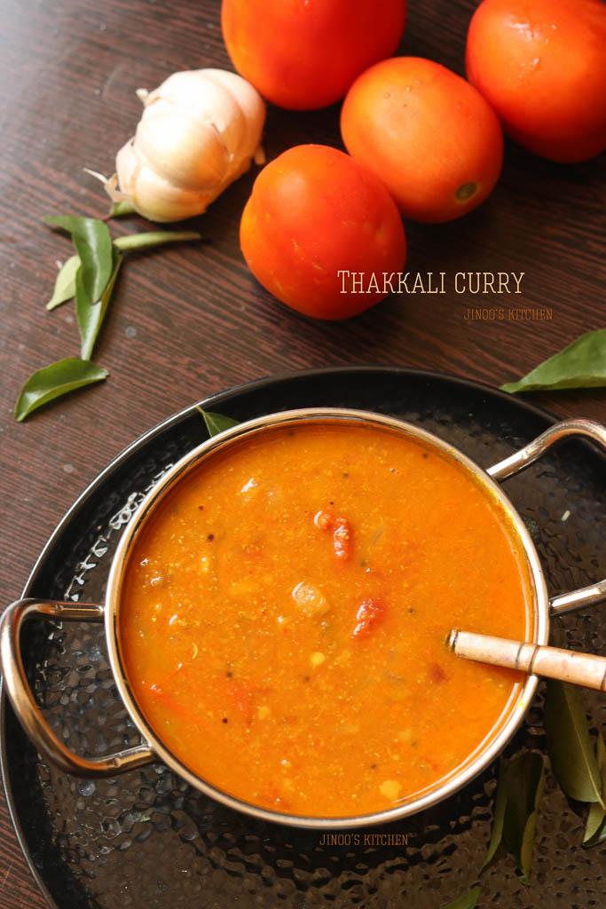 thakkali curry recipe