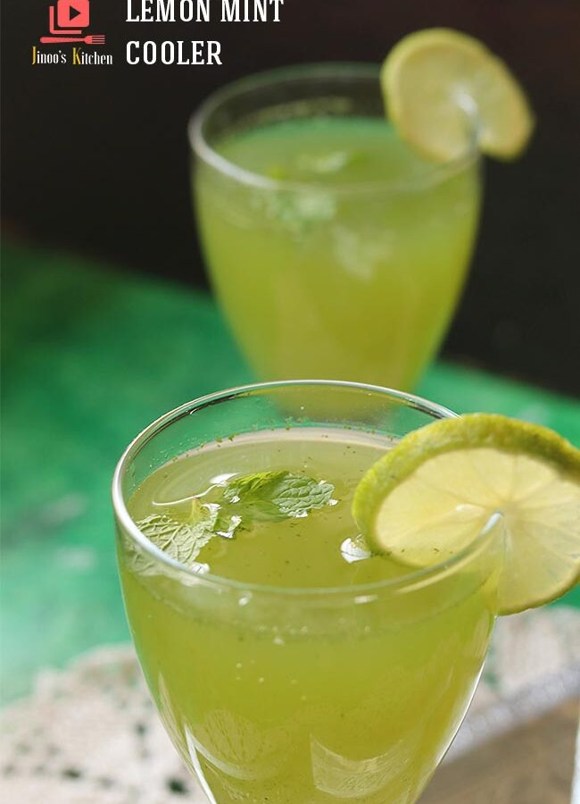 lemon mint cooler recipe