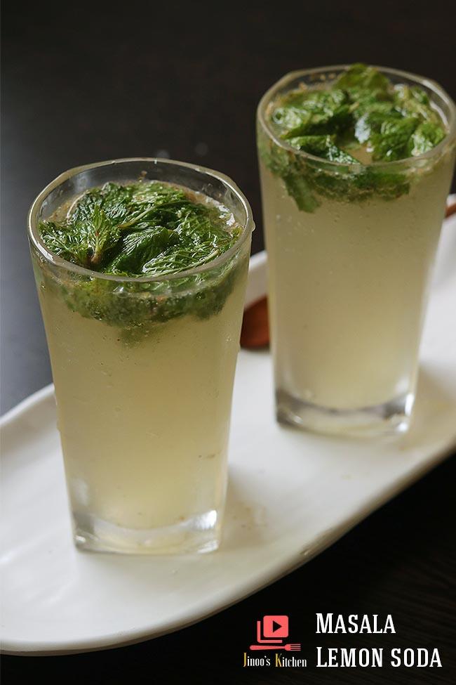 masala lemon soda recipe