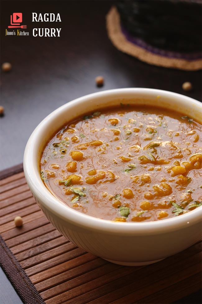 ragda recipe Ragda curry for chaat