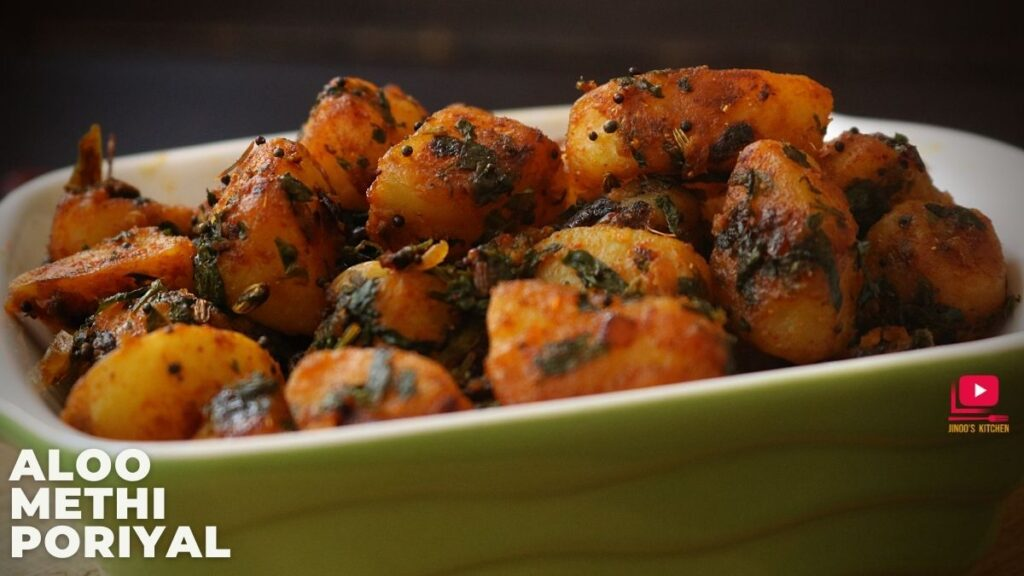 Aloo methi poriyal recipe