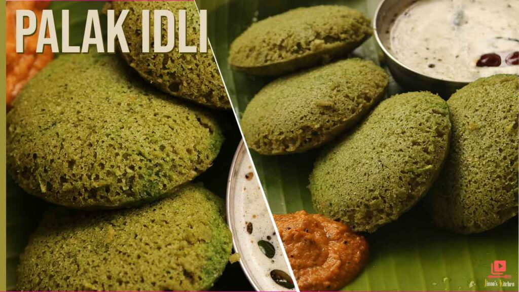 palak idli recipe