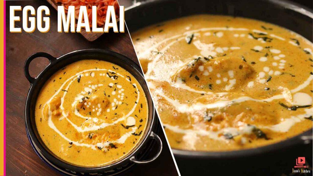 egg malai recipe