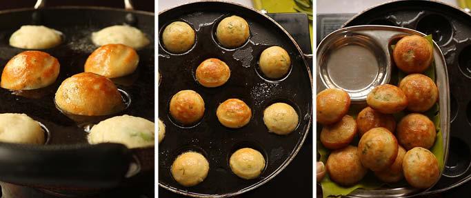 making of paniyaram