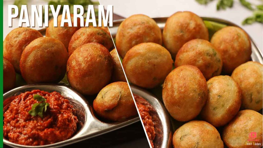 paniyaram recipe from scratch