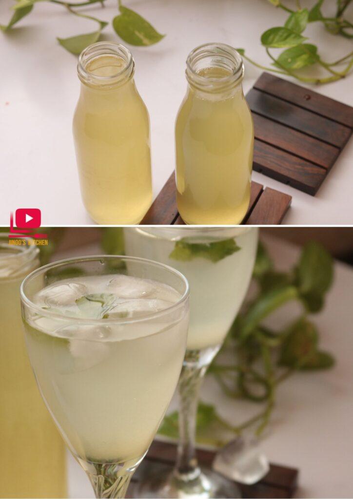 lemonade and lemon squash