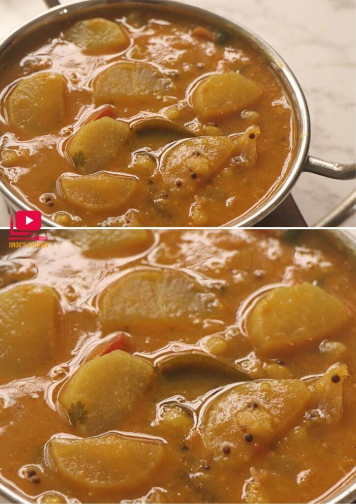 radish sambar mullangi sambar recipe