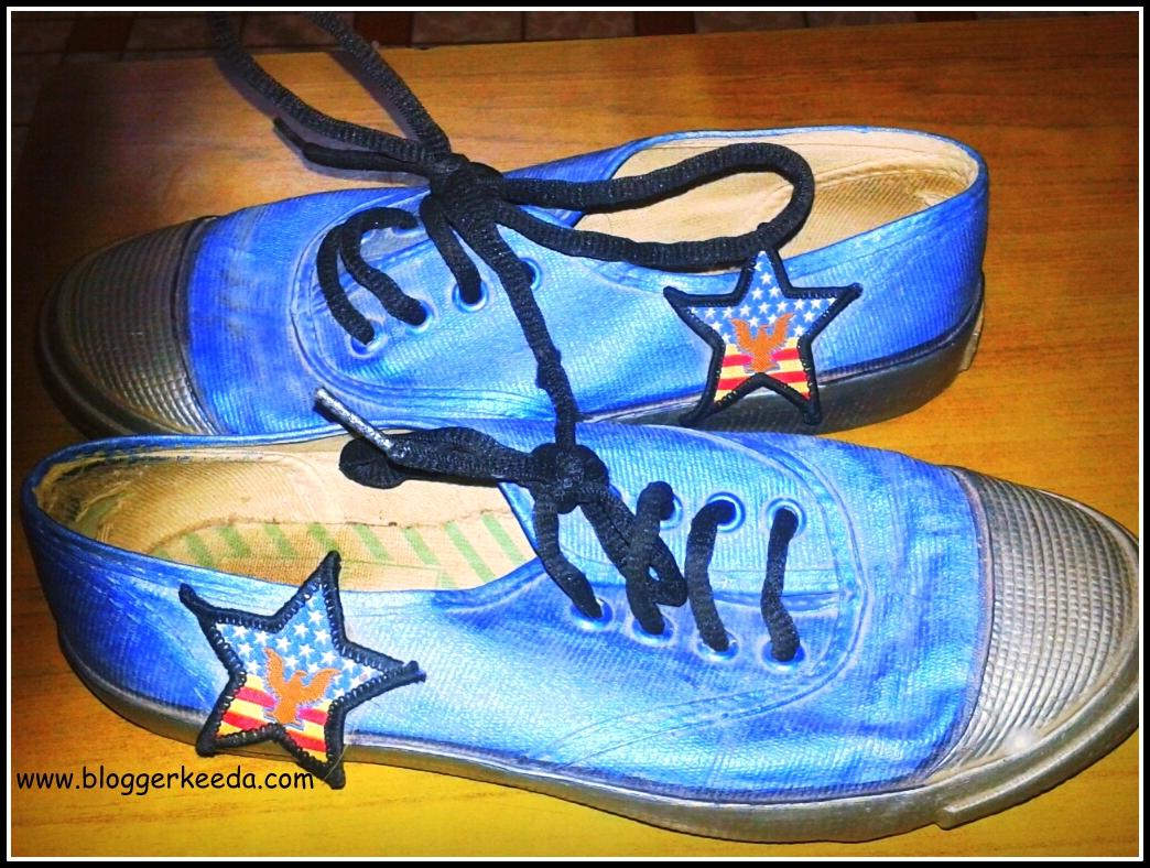 DIY Canvas Shoes
