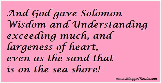 Solomon Solomon - BloggerKeeda