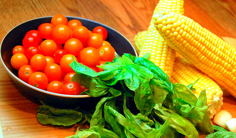Easy to cook Summer Corn and Tomato Pasta 04