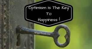 Optimism Is The Key To Happiness