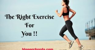 The Right Exercise For You