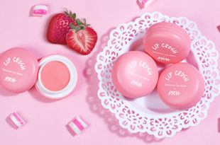 Nykaa Lip Crush Macaron Lip Balm - Strawberry 06